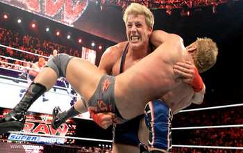 From a previous match-up on Raw. (Image courtesy of Examiner.com)