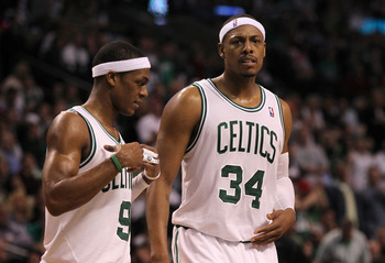 Rajon Rondo and Paul Pierce