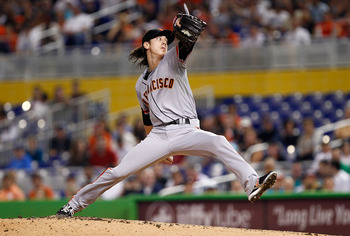 Tim Lincecum still can't avoid the big inning.