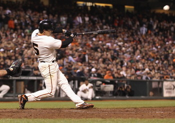 Ryan Theriot has been one of the hottest Giants hitters.