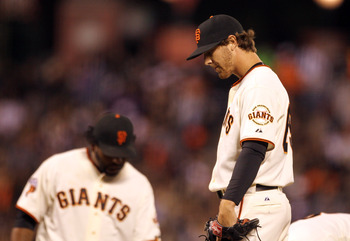The Giants' bullpen needs to get their young arms going.