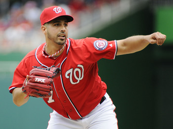 Gio Gonzalez is striking out 11.4 batters per nine innings, the best ratio in the major leagues.