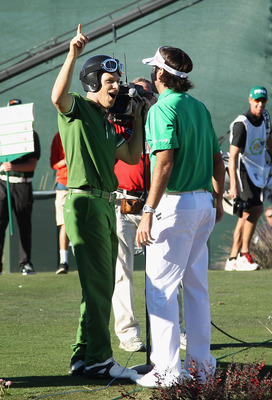 Golf Boy Ben Crane and Bubba Watson entertained in Phoenix