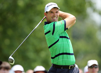 Padraig Harrington has three major titles
