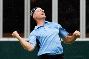 Jim Furyk won the 2010 FedEx Cup
