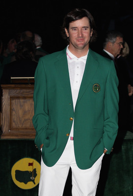 Bubba Watson won the 2012 Masters