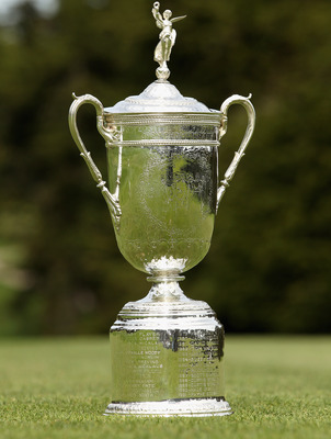 The U. S. Open trophy is what they will playing for come Thursday