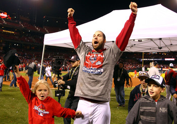 Healthy or not, Chris Carpenter is the leader of the Cards' pitching staff.