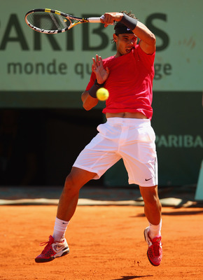 Weapon of tennis destruction - the Nadal forehand