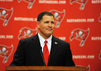 Head coach Greg Schiano will look to end the team's 10-game losing streak.