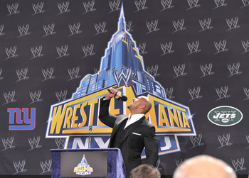 Mr. WrestleMania...only.