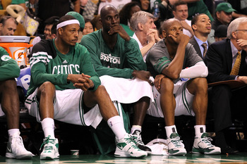 Will the Celtics roster include all three veterans 34 and over?