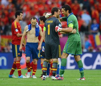 Iker and Buffon