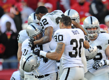 Oakland Raiders Defeat Kansas City Chiefs Christmas Eve 2011
