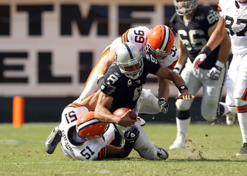 Jason Campbell, Raiders vs. Browns