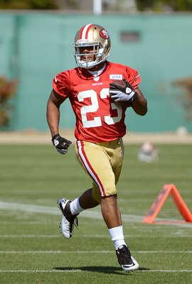 LaMichael James has looked great in OTAs.