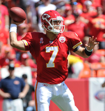 Kansas City Chiefs QB Matt Cassel