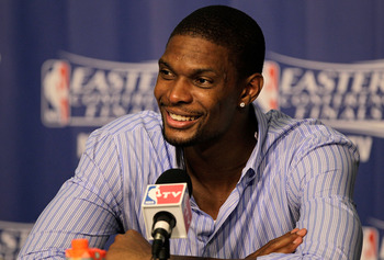 Bosh goes back to No. 1 - this time in the Motor City
