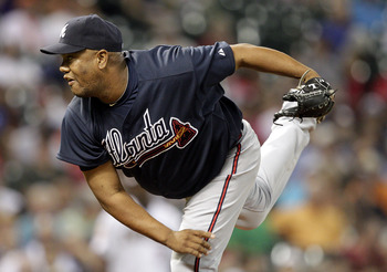 Livan Hernandez has pitched just twice in the past two weeks for the Braves.