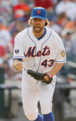 Dickey's knuckler has baffled hitters lately.