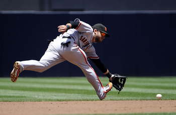Brandon Crawford needs another year to develop in the minors.
