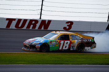 Kyle Busch suffered engine failure for the second week in a row