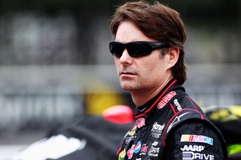 Jeff Gordon struggled to another poor finish at Pocono