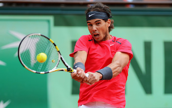 Nadal powering his way to another title