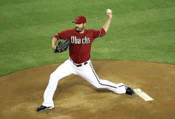 Joe Saunders is a solid veteran lefty with a career record that is 17-games above .500.