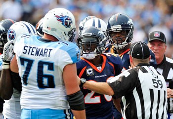 The Titans are set at offensive tackle.