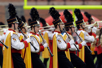 The University of Maryland band will warm-up the crowd before games in 2012.