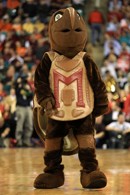 Terps' Fans, Testudo included, have high expectations for freshman Stefon Diggs.