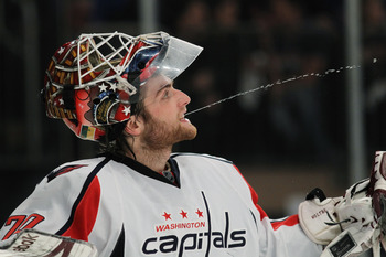 He might play like a veteran but Braden Holtby is still just 22—and a new father to boot.
