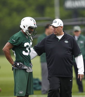 Antonio Allen will likely be getting a lot of positive feedback from Rex Ryan.