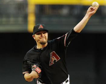 Wade Miley leads the Arizona Diamondbacks in wins and ERA.
