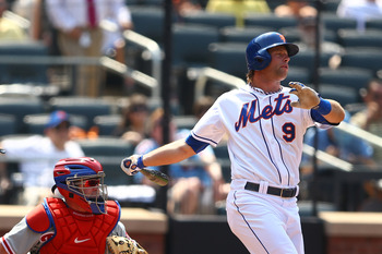 Kirk Nieuwenhuis ranks third among Mets regulars with a .736 OPS.