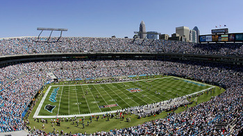 Bank of America Stadium, home of Carolina Panthers