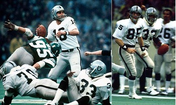 Raiders beat Eagles in Super Bowl XV