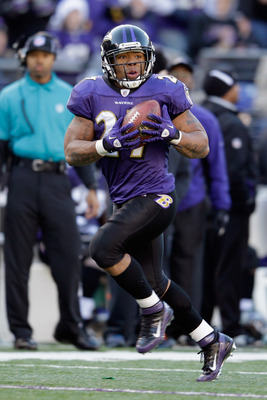 Ray Rice gave the Ravens 2,068 reasons to pay him last season, and 2,068 reasons why he made the All-AFC North Team.