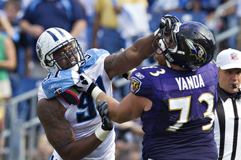 Just one penalty for Marshal Yanda last year—one.
