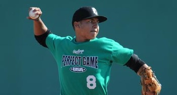 Carlos Correa: No. 1 pick in the 2012 draft // Courtesy of PerfectGame.org