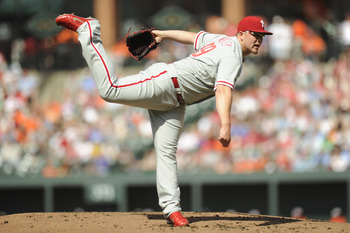 Vance Worley: The Phillies' 20th-round pick in 2005