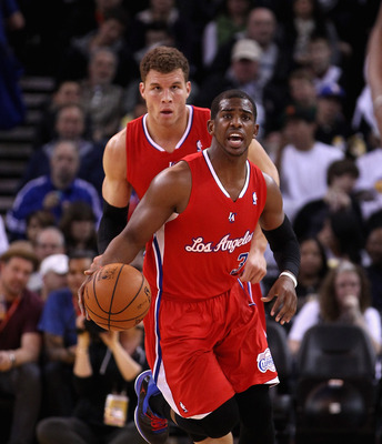 Clippers Chris Paul and Blake Griffin
