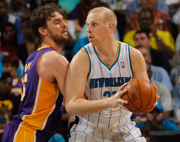 Some team will come calling on Chris Kaman this summer.