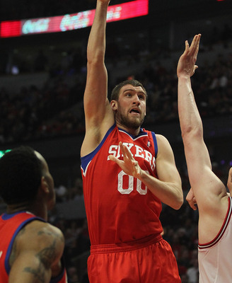 Spencer Hawes has been very productive when healthy.