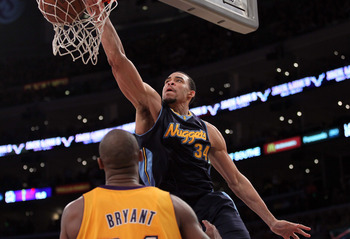 JaVale McGee soared to new heights in the playoffs against the Lakers.