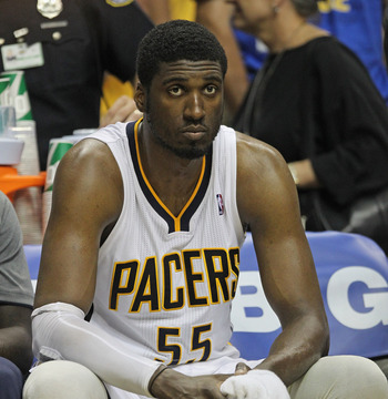 Roy Hibbert is a talented young center with a bright future.