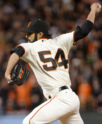 Sergio Romo pitched well in 2010 and 2012