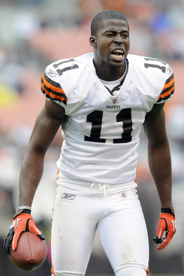 Cleveland Browns WR Mohammed Massaquoi, a 2009 second-round draft selection.