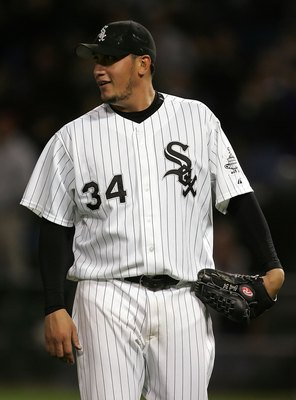 Freddy Garcia had his best season with the Chicago White Sox.